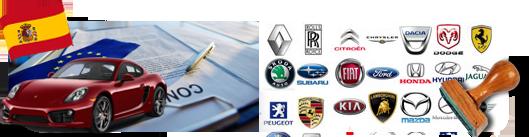 Certificado de conformidad del automóvil importado